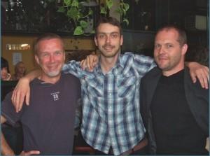 Simon Hincks, Matt Pollard and Glen Capra